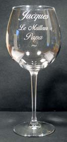 verre a pied personnalise
